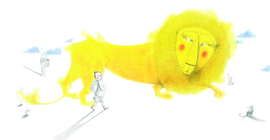 Das Löwenmädchen