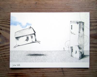 Postkarte_vergessliches Haus